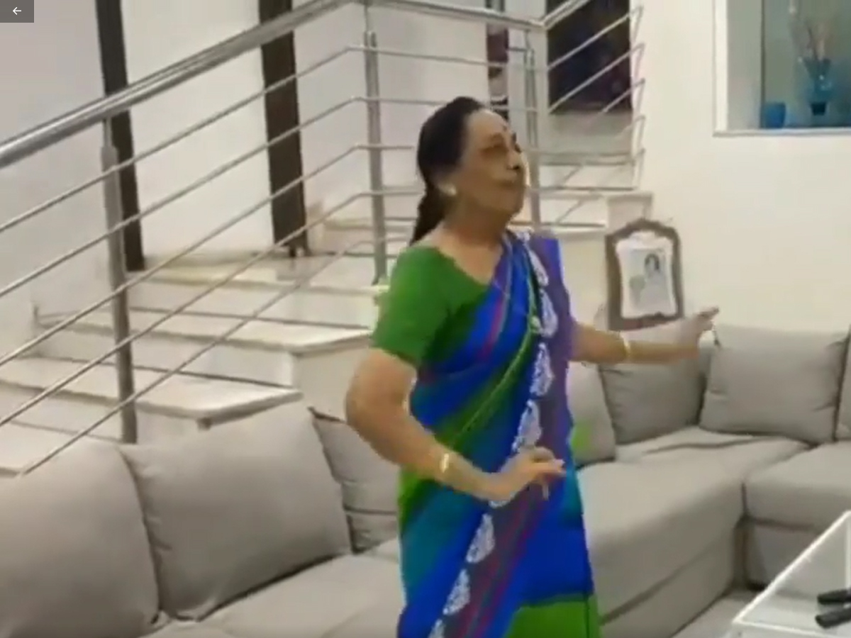 Watch: At 84, Jamunamma Dance Goes Viral