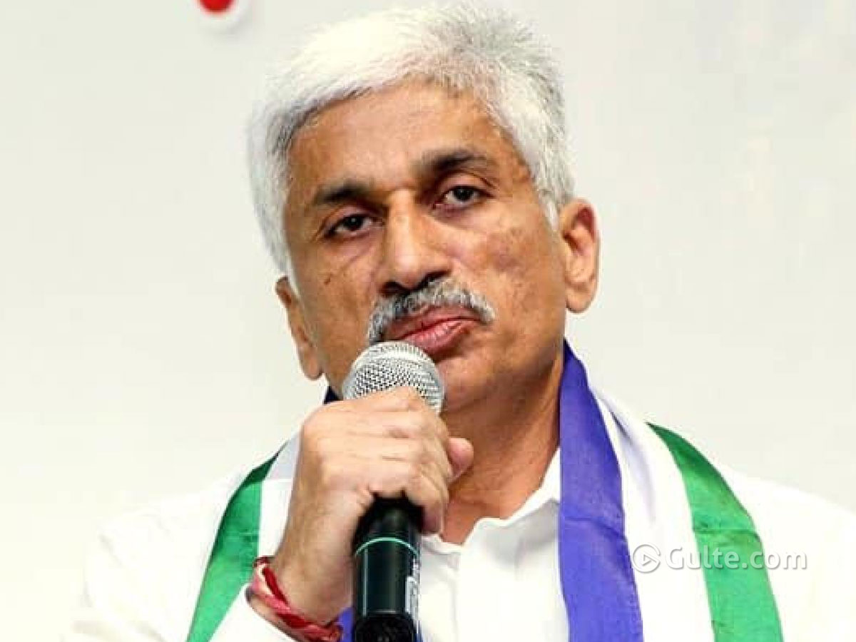 No Entry for Ghanta - Vijayasai Reddy
