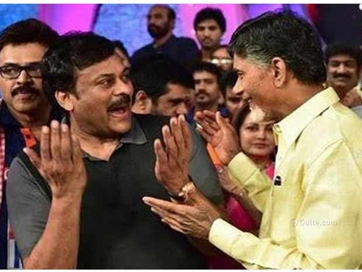Chiru greets Naidu with a praising tweet