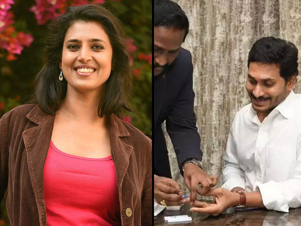 Actress's Satire On CM Jagan; TDP Folks Enjoying