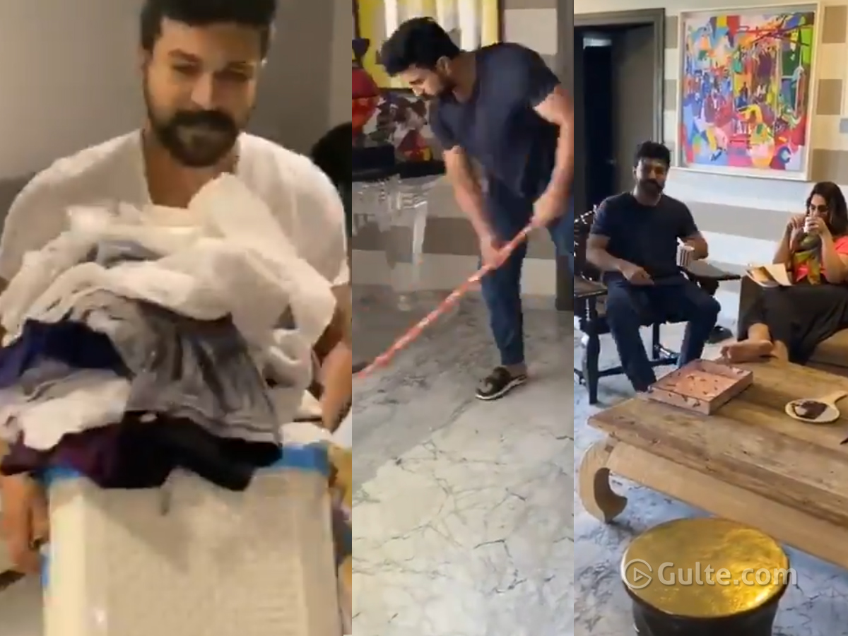 Watch: Charan accepts Rajamouli's Challenge