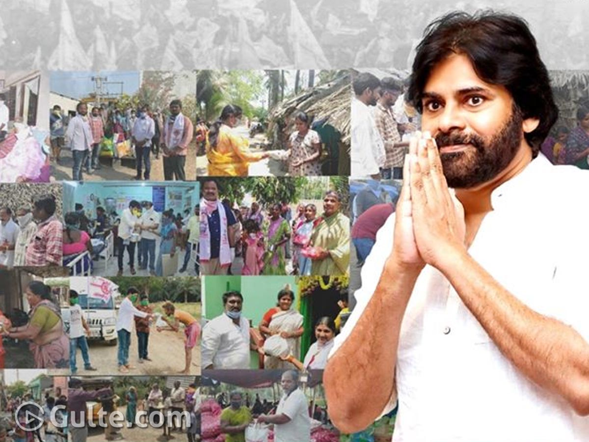 Covid-19 Times: Janasena Way Ahead Of TDP & YCP