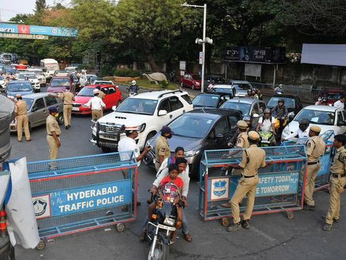 Hyd Traffic Police: Legal Action on Violators