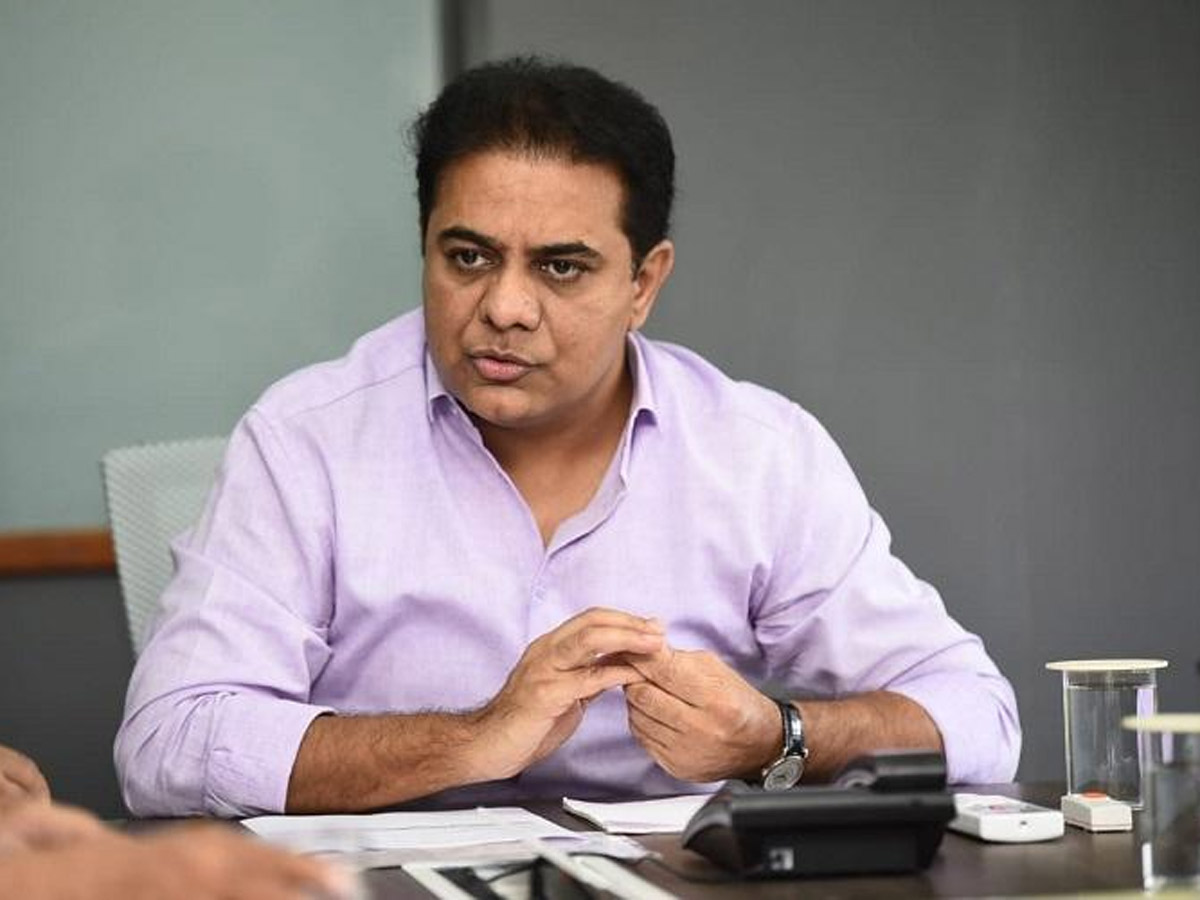 KTR Breathes Fire On 'India Today' Survey Report
